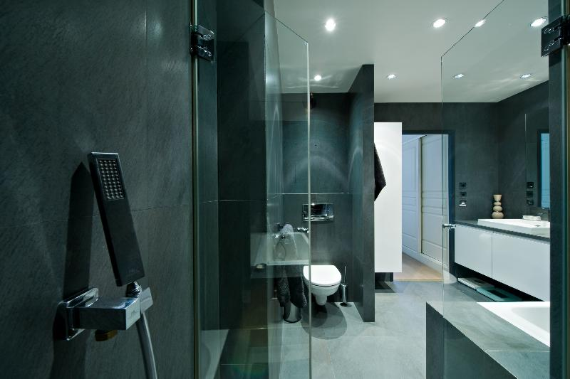 Beautiful Salle De Bain Ardoise Grise Contemporary  Awesome