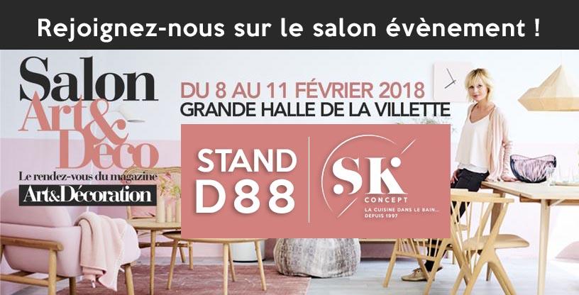 SK CONCEPT Au Salon Artu0026Décoration 2018