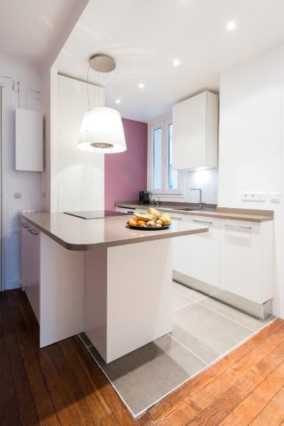 r alisation d 39 une cuisine armony design am nag au sein d 39 un appartement parisien paris. Black Bedroom Furniture Sets. Home Design Ideas