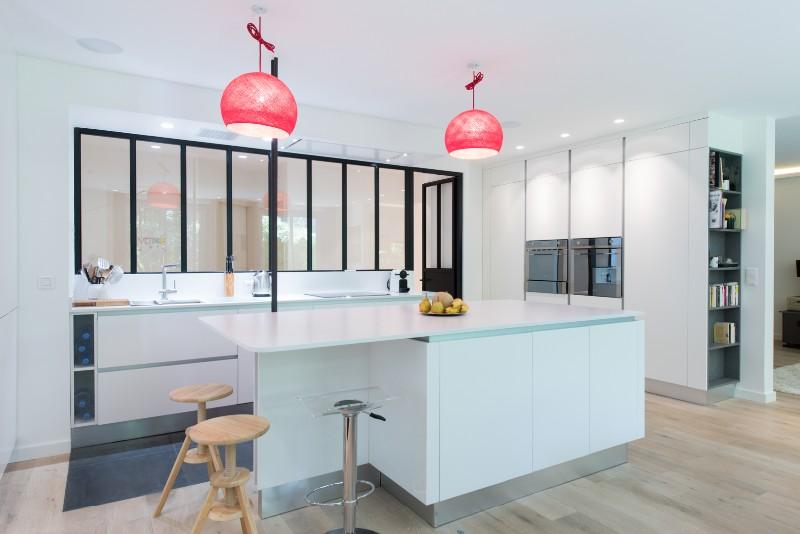 Armony cucine skconcept r alisation d 39 une cuisine design for Cuisine ouverte sans ilot central