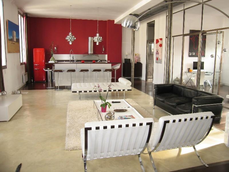 Cuisine Armony Cucine Loft Eiffel Paris 7 Me Con Ue Par L 39 Architecte D 39 Int Rieur S Verine