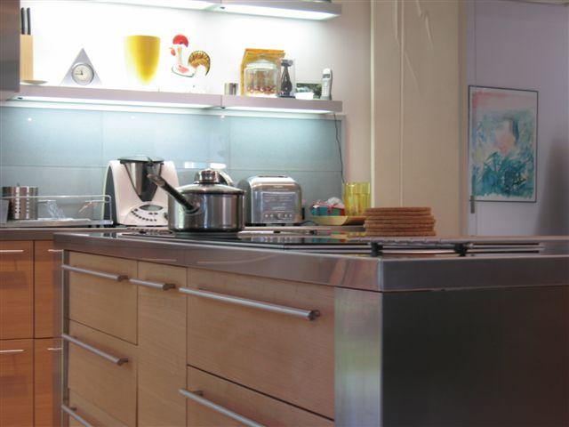Cuisine beta ch ne clair par l 39 architecte d 39 int rieur s verine kalens - Cuisine chene clair contemporaine ...