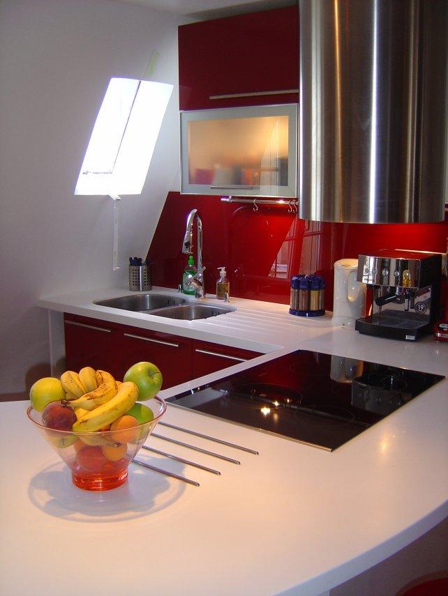 cuisine rouge et blanc image cuisine rouge cuisine beta