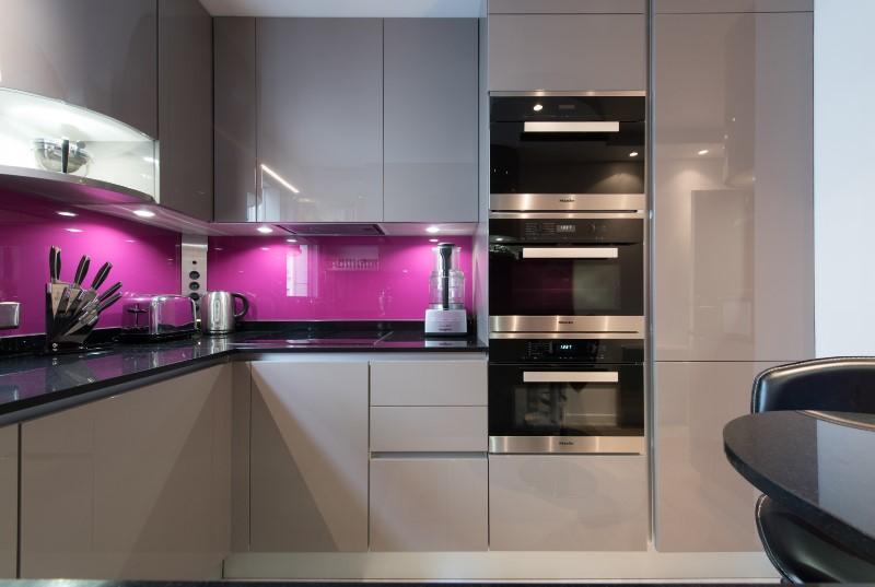 R alisation d 39 une cuisine armony cucine agenc en u avec for Cuisine en u petit espace